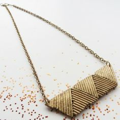 How to make Necklace - Spaghetti  - DIY Craft Project with instructions from Craftbits.com