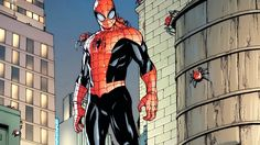 Superior Spiderman HD Desktop Background - http://1080wallpaper.net/superior-spiderman-hd-desktop-background.html