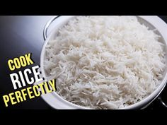 Showing you how to make the white rice you will use in any fried rice recipe. Your fried rice will always come out perfect if you just follow the steps in th...