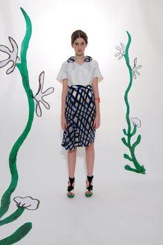 Tsumori Chisato Resort 2014 Collection Slideshow on Style.com