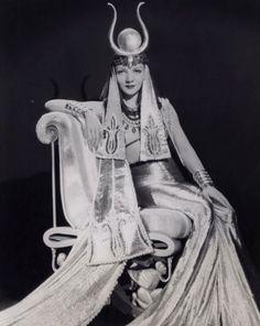 "maudelynn: "" Claudette Colbert in Cleopatra c.1934 """
