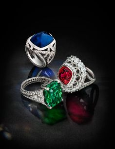"""Fabergé is launching a new campaign this autumn with the tagline """"FOREVER. Gems Jewelry, High Jewelry, Luxury Jewelry, Jewelery, Bling Bling, Fashion Rings, Fashion Jewelry, Diamond Engagement Rings, Jewelry Collection"""