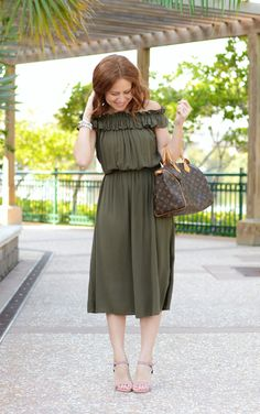 Midi Dress style on