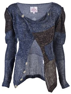 Vivienne Westwood cardigan. I love the structure of this cardigan but at $542.00 it's out of budget. Booo!