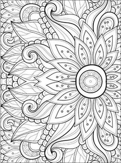 Free Adult Coloring Pages Thank you for visiting here. Below is a great picture for Free Adult Coloring Pages. We have been searching for this image via net and it originated from t Flower Coloring Pages, Mandala Coloring Pages, Coloring Pages To Print, Free Coloring Pages, Coloring Sheets, Coloring Books, Colouring Pages For Adults, Coloring Worksheets, School Coloring Pages