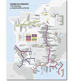 Mapa dos vinhos