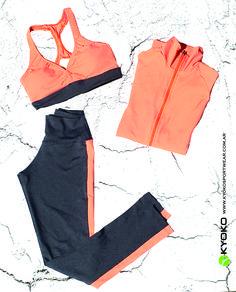 #activewear #kyoko sportwear #orange #fluorescente #fitness #argentina #sport #zumba #axe #tendencia #ss17