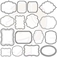Free scrapbooking borders and frames