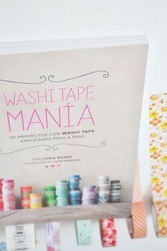 Libro Washi Tape Manía