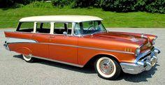1957 Chevrolet Bel Air Station Wagon.