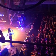 Nov 2014: Tiny red-haired person in the photo pit is me! Shooting Warpaint, one of my favorite bands, at the Regency Ballroom in San Francisco. #warpaint #concert #live #regencyballroom #photography