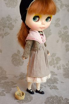 Gentil coq'licot   Blythe clothes for dolls : tutorial : Kikihalb ♧ Forest~Tales ♧