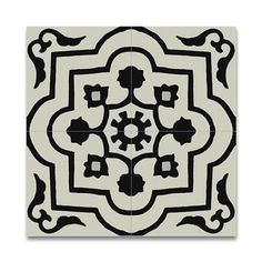 Shop for Pack of 12 Handmade Taza Black and White Cement and Granite 8-inch Floor or Wall Tile (Morocco). Get free delivery at Overstock.com - Your Online Home Decor Outlet Store! Get 5% in rewards with Club O! - 17077883