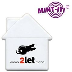 HOUSE SHAPED PROMOTIONAL MINT CARDS - on special offer until the end of October 2012 at Code Promotional Merchandise.