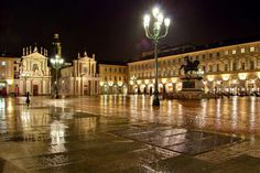 Piazza San Carlo Learn Italian in Turin www.ciaoitaly-turin.com