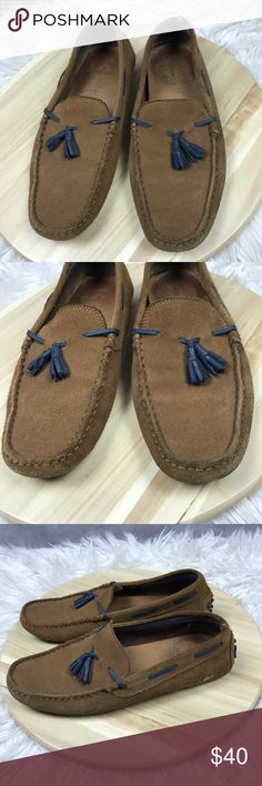 868b55af15 Lacoste Men Slip On moccasins leather chestnut Has small flaw/cut on one  shoe on the back See picture Lacoste Shoes Loafers & Slip-Ons