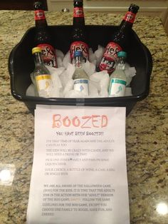 """You've been """"BOOZED!"""" The adult BOOED version. Love it!"""