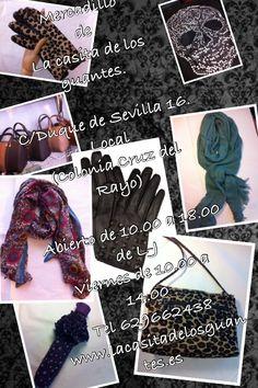 La casita de los guantes Guantes y accesoriosC/ Duque de Sevilla 16 Madrid (Cruz del Rayo)