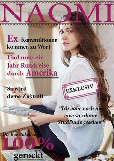 Geschenk zu Naomis Uniabschluss  #Zeitschriftmachen #Master #Bachelor #persönlichesGeschenk  www.jilster.de
