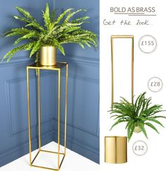 Find out our 3 top tips for styling brass in your home and how to get the look- MiaFleur