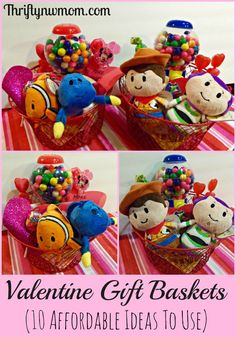 Looking for ideas on fun and affordable ways to put together Valentine Day Gift Baskets for kids? We have 10options that won't break the bank, that you can use to make a special basket for the little ones you know including #Hallmark #IttyBittys