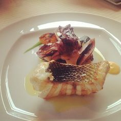 Grilled sea bass #Acanto - Photo by dorchestercollection