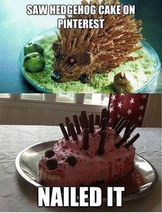 Nailed it! Klik op de afbeelding voor een hele lading Pinterest humor :-)