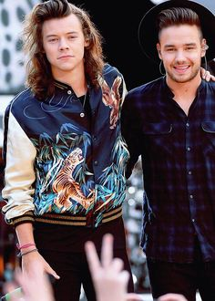 Harry and Liam on ABC's 'Good Morning America' - Harry Edward Styles, Harry Styles, Midnight Memories, Five Guys, Good Morning America, Liam Payne, Pink Floyd, Niall Horan, Perfect Man