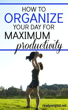 As a mom, it is very easy for the day to get away from you. Whether you are a mom in business, or you run a blog, getting things done with kiddos around is a challenge! They have their own agenda and their own list of priorities and often, none of that has anything to do with you and what you need to get done. But, if you are mindful of your time, and you use some of these simple techniques, you can easily organize your day for maximum productivity. Productivity Tips | Stay Productive | Busy…