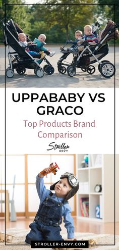 Especially for new parents, deciding what make and model of stroller to buy can be quite a challenge. We did the homework and came up with comparison between two of the most popular stroller brands: UPPAbaby vs. Graco. Check out our top products brand comparison after the jump.   #strollerenvy #babystroller #strollerreview #babystrollerbrands #uppababy #gracostroller