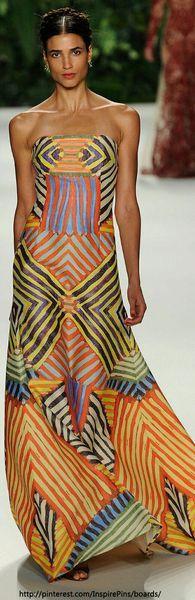 Rosamaria G Frangini | High Casual Fashion | Color Fashion Glam | Orange & Pink | Africa fashion