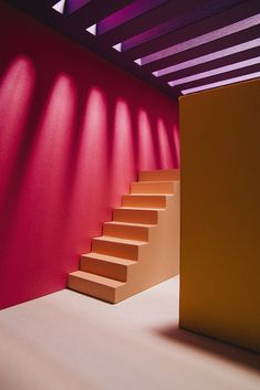 Creative couple blurs lines between art, architecture and cinematography. Colour Architecture, Interior Architecture, Architecture Models, Paper Artist, Cinematography, Colorful Interiors, Color Inspiration, Colours, Instagram
