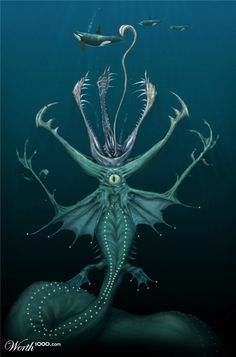 Sea Monsters - Worth1000 Contests