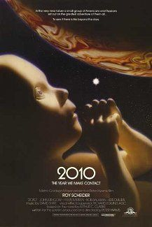 2010 (1984). Sequel to 2001 - A Space Odyssey. Not the worst sequel. Kept me interested.