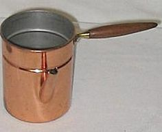 Tagus Copper Pot with Wood Handle #R-90-Portugal (Image1)