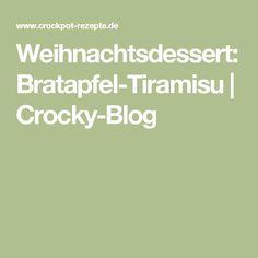 Weihnachtsdessert: Bratapfel-Tiramisu | Crocky-Blog