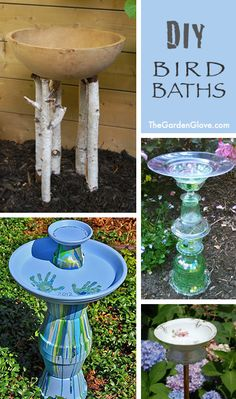 7 DIY Bird Baths • Ideas, Tips & Tutorials!