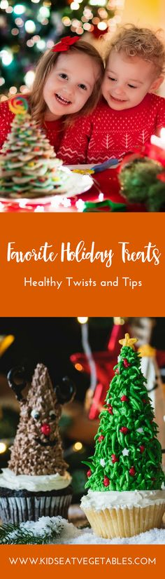 Healthy Twists and Tips to Our Favorite Holiday Treats Healthy Dinners For Kids, Healthy Breakfast For Kids, Healthy Sweet Snacks, Healthy Toddler Meals, Healthy Kids, Kids Meals, Healthy Treats, Yummy Treats, Healthy Food