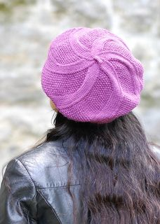 This is a gorgeous beret. http://www.ravelry.com/patterns/library/coldharbour-twist
