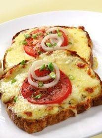 *Riches to Rags* by Dori: Tomato Mozzarella Toast