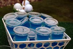 Golf Theme Party- Zaks birthday. (Note to self.. Green jello shots with a white piece of candy for a golf ball and a toothpick with a flag on it. That way the toothpick can be used to get out the jello shot)
