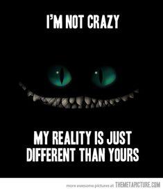 No no i'm not crazy
