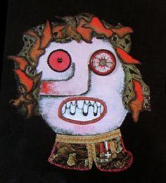 """Mi piace"": 0, commenti: 1 - massimo j. monaco (@massimo.j.monaco.artist) su Instagram: ""FIRE EATER/MANGIAFUOCO (character of the play Pinocchio) 1980 cm.160x120 - Two-dimensional wooden…"""