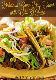 Check out how we took Game Day to the Next Level with Old El Paso + awesome deals on these products so you can plan your next game day. #OEPGameDay http://ooh.li/3f8479c AD