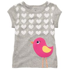 Cap-Sleeve Graphic Tee | Toddler Girl New Arrivals