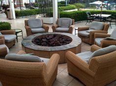 Outdoor Fire Pits Del Mar Hilton Del Mar, CA