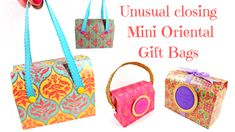"Mixed Up Craft on Twitter: ""Mini Oriental Gift Bags https://t.co/ZC4pqb1xT5… """