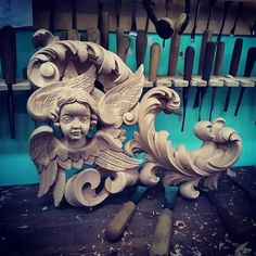 Wood carving                                                       …