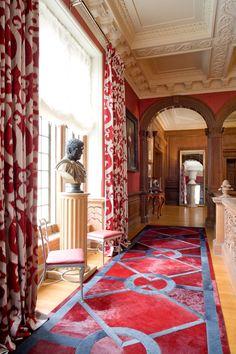 Entry Halls - Interior Design Photo Gallery - Timothy Corrigan