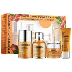 Peter Thomas Roth Camu Camu Power C x 30 Anti–Wrinkle Brightening Kit #Sephora #gifts #giftsforher